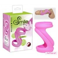 Nasadka Smile Pink Sleeve Curly - 7,7cm
