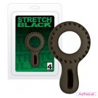 Pierścień Stretch Black - UNIW.cm