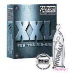 Prezerwatywy Secura XXL - 190mm x 54mm, 24 szt.