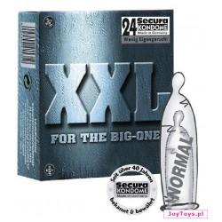 Prezerwatywy Secura XXL - 24szt.