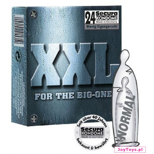 Prezerwatywy Secura XXL