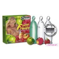 Prezerwatywy Secura Sexy Fruit - 24szt.