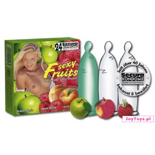 Prezerwatywy Secura Sexy Fruit
