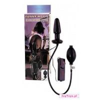 Pompowany korek analny - Fanny Hills Plug - 10cm