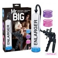 Pompka erekcji - Mr. Big -  3 Sleeve System Pump - UNIW.