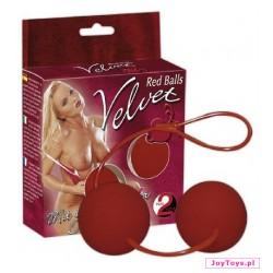 Kulki Velvet Red Balls - 23cm