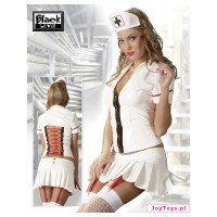 Pielęgniarka - przebranie winylowe - Vinyl Set Nurse - XXL