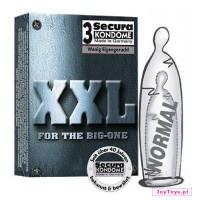 Prezerwatywy Secura XXL - 3szt.
