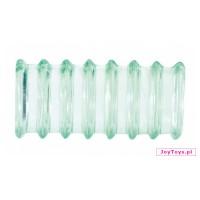 Nasadka Doo clear - prążki  - 4cm