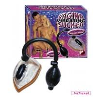 Wibrująca ssawka waginalna Vibrating Vagina Sucker - UNIW.