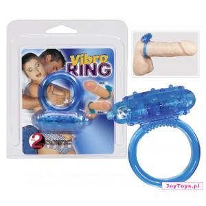 Pierścień Vibro Ring  - UNIW. - niebieski