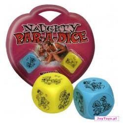 Erotyczne kostki do gry Par-a-dice - 2 szt.