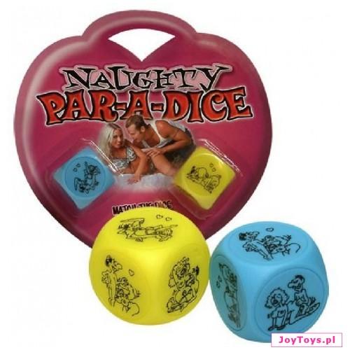 Erotyczne kostki do gry Par-a-dice