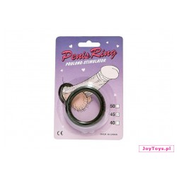 Pierścień gumowy Cockring - 4,5cm