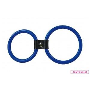 Podwójny pierścień Dual Rings  - UNIW. - niebieski
