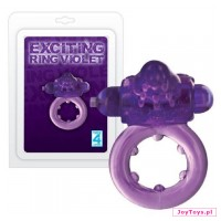 Pierścień - Exciting Ring Violet - cm