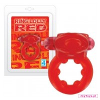 Pierścień - Ring Lolly Red - cm