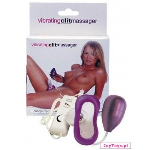 Masażer łechtaczki Vibrating Clit Massager