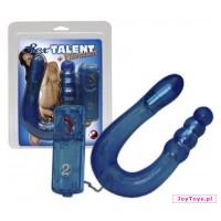 Podwójne wibrujące dildo Sex Talent Vibrating Dong - 32cm