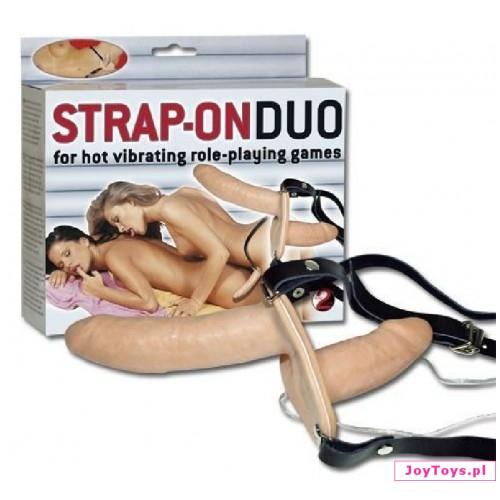 Dwustronne dildo Strap-On Duo