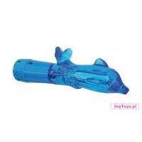 Wodoodporny mini wibrator Mini Dolphin - 9,5cm