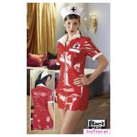 Przebranie pielęgniarki - Nurse dress Black Level - L