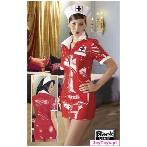 Przebranie pielęgniarki - Nurse dress Black Level