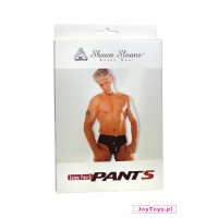 Lateksowe majtki Latex Pouch Pants - L