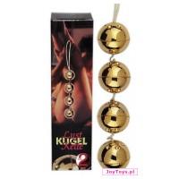 Złote kulki miłości Pleasure Balls GOLD 24 karat - 3cm
